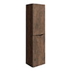 Ronda Chestnut Tall Wall Hung Storage Unit - 1500mm High profile small image view 1