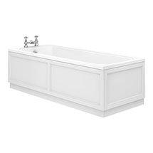 Chatsworth 1700 x 700 Single Ended Bath + White Panels Medium Image