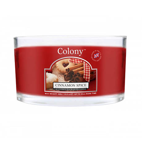 Wax Lyrical Colony Cinnamon Spice Multi-Wick Scented Candle