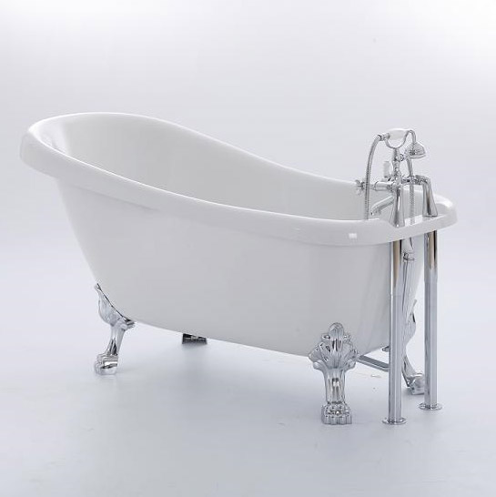 Royce Morgan Chatsworth 1530 Luxury Freestanding Bath with Waste profile large image view 1