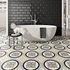 Charlbury Yellow Wall and Floor Tiles - 200 x 200mm Small Image