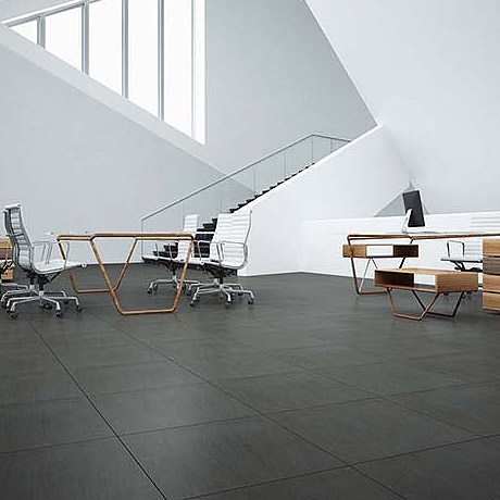 Chesham Anthracite Outdoor Stone Effect Floor Tiles - 600 x 600mm