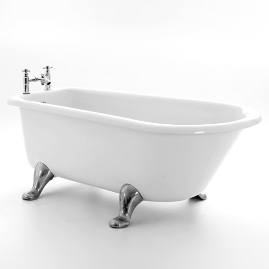 Royce Morgan Chillingham 1665 Luxury Freestanding Bath with Waste Large Image