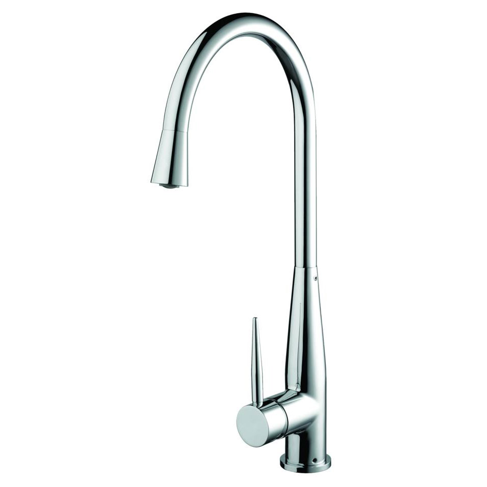 Bristan - Champagne Easy Fit Monobloc Kitchen Sink Mixer - CHM-EFSNK-C Large Image
