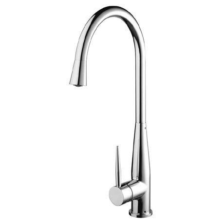 Bristan - Champagne Easy Fit Monobloc Kitchen Sink Mixer - CHM-EFSNK-C