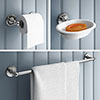 Chatsworth 1928 Traditional 3-Piece Bathroom Accessory Pack profile small image view 1