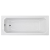 Chatsworth Art Deco 1600 x 700 Single Ended Bath profile small image view 1