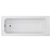 Chatsworth Art Deco 1700 x 750 Single Ended Bath profile small image view 1