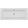 Chatsworth Art Deco 1700 x 700 Double Ended Bath profile small image view 1