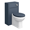 Chatsworth Traditional Blue Complete Toilet Unit profile small image view 1