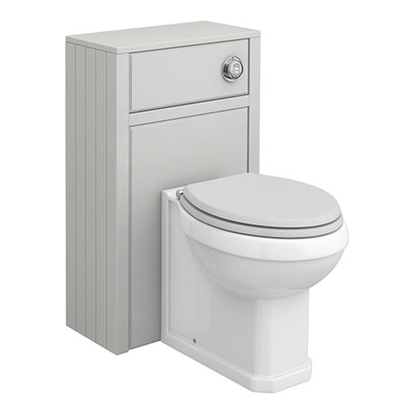 Chatsworth Traditional Grey Complete Toilet Unit