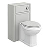 Chatsworth Traditional Grey Complete Toilet Unit profile small image view 1