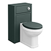Chatsworth Traditional Green Complete Toilet Unit profile small image view 1
