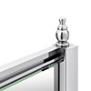 Chatsworth Chrome Shower Door Concealed Screw Cover Profiles profile small image view 1