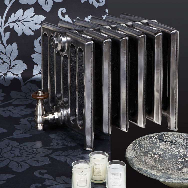 Paladin Churchill Cast Iron Radiator (350mm High) profile large image view 6