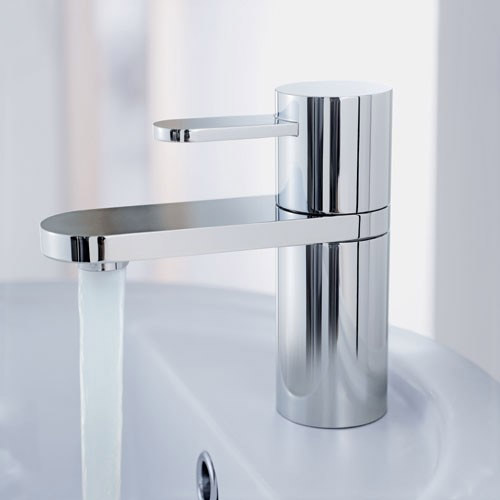 Mayfair - Cielo Sequential Mono Basin Mixer with Click Clack Waste - CIE009 profile large image view 2