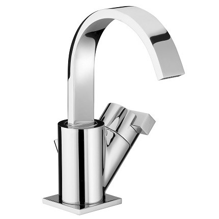 Bristan Chill Contemporary Basin Mixer Tap - Chrome - CL-BASNW-C Large Image