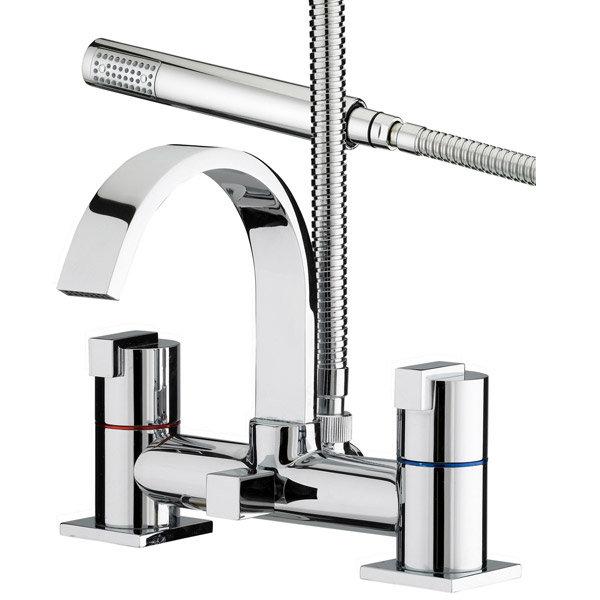 Bristan Chill Contemporary Bath Shower Mixer - Chrome - CL-BSM-C Large Image