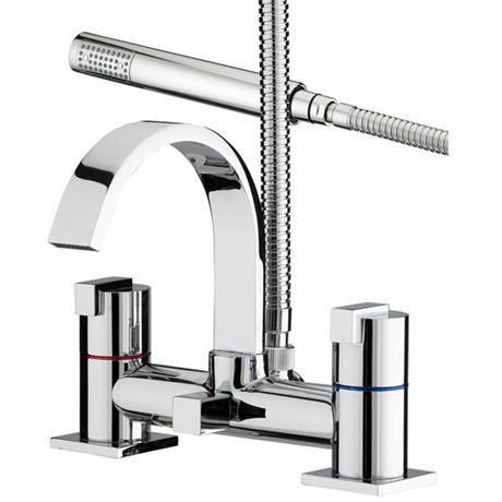 Bristan Chill Contemporary Bath Shower Mixer - Chrome - CL-BSM-C