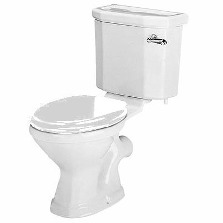 Twyford Clarice Close Coupled WC + Soft Close Seat