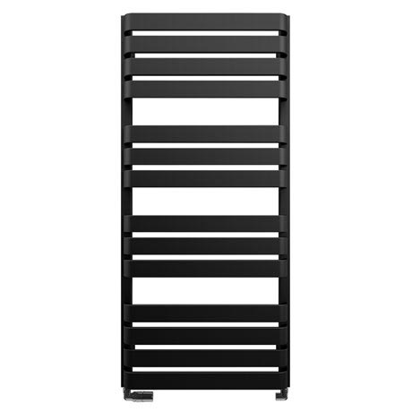 Bauhaus Celeste Towel Rail - 500 x 1100mm - Metallic Black Matte