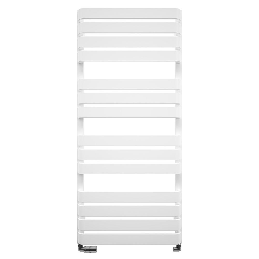 Bauhaus Celeste Towel Rail - 500 x 1100mm - Soft White Matte Large Image