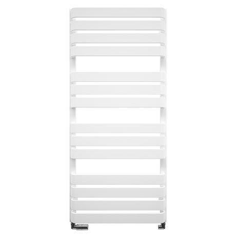 Bauhaus Celeste Towel Rail - 500 x 1100mm - Soft White Matte