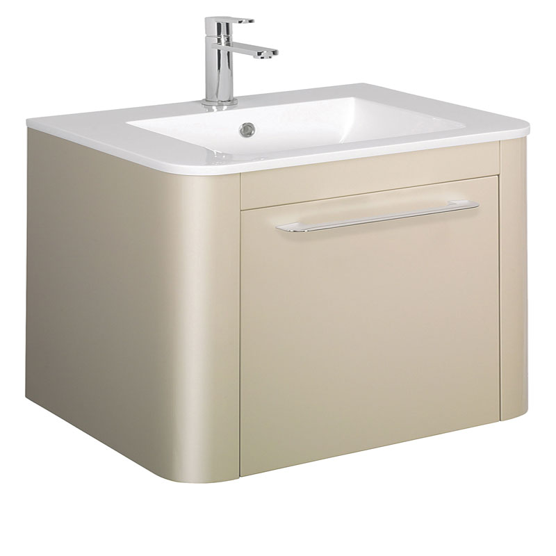 Bauhaus - Celeste Vanity Unit with Basin - Calico - 3 size options Large Image