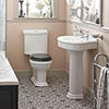 Heritage Claverton Traditional 4-Piece Bathroom Suite profile small image view 1