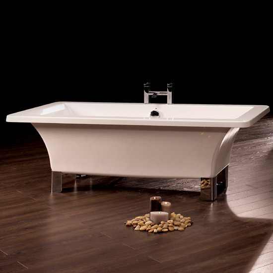 Royce Morgan Clarence 1690 Luxury Freestanding Bath with Waste profile large image view 2