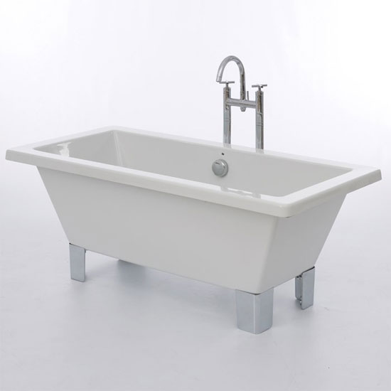 Royce Morgan Clarence 1690 Luxury Freestanding Bath with Waste Large Image