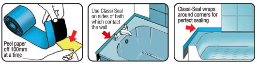 Instructions for Classi Seal product