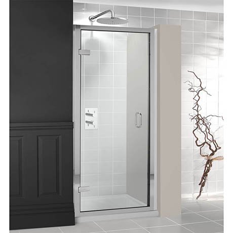 Simpsons - Classic Framed Hinged Shower Door - 3 Size Options