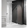 Simpsons - Classic Hinged Shower Door with Inline Panel profile small image view 1