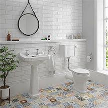 Carlton Low Level Bathroom Suite Medium Image