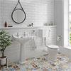 Carlton Low Level Bathroom Suite Medium Image