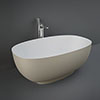 RAK Cloud Matt Cappuccino Freestanding Bath (1400 x 753mm) profile small image view 1