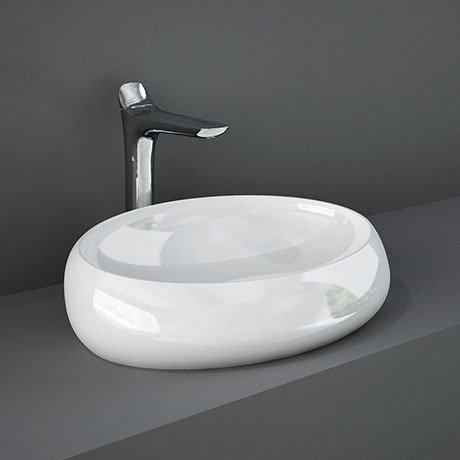RAK Cloud 58cm Counter Top Basin - Gloss White