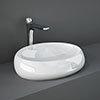 RAK Cloud 58cm Counter Top Basin - Gloss White profile small image view 1