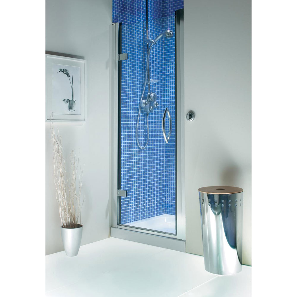 Roman Collage Hinged Shower Door Large Image