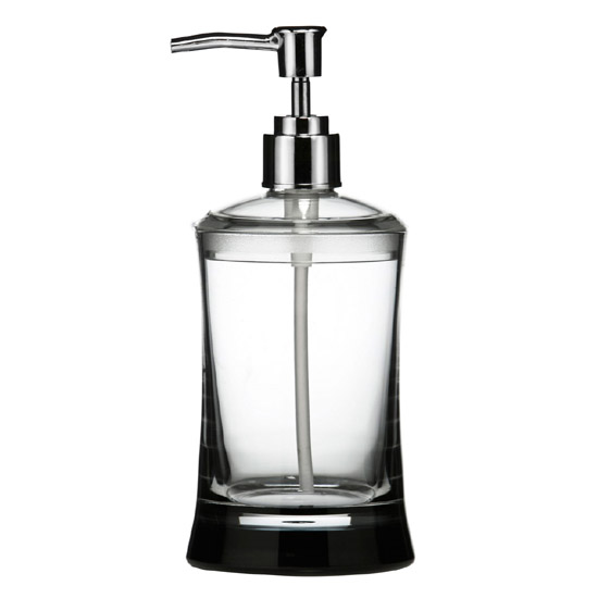 Clear Acrylic Lotion Dispenser Large Image
