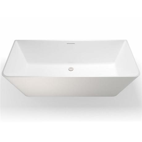 Clearwater - Patinato Natural Stone Bath - 1690 x 800mm - N3B