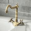 Britannia Classic Mono Sink Mixer - Antique Bronze profile small image view 1