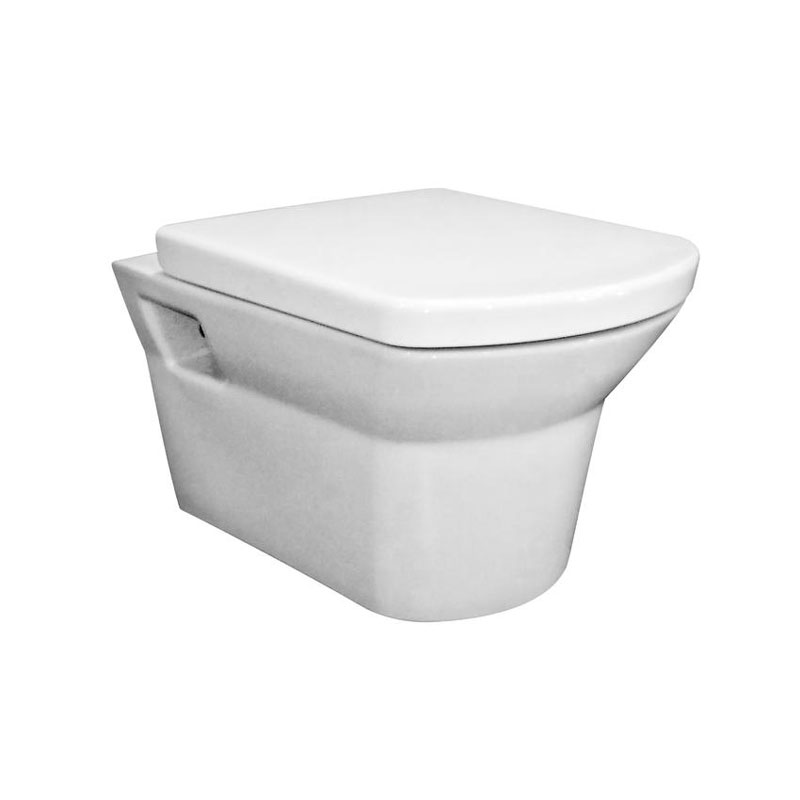 Hudson Reed Alton Wall Hung Pan with Soft Close Seat - CLT007 Large Image