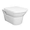 Hudson Reed Maya Wall Hung Pan with Soft Close Seat - CLT007 Small Image
