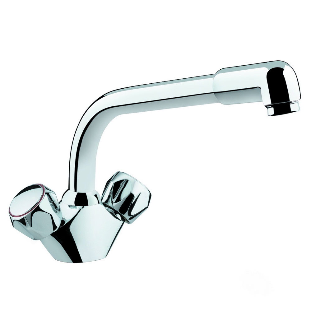 Bristan - Club Matrix Monobloc Kitchen Sink Mixer - CM-SNK-C-MT Large Image