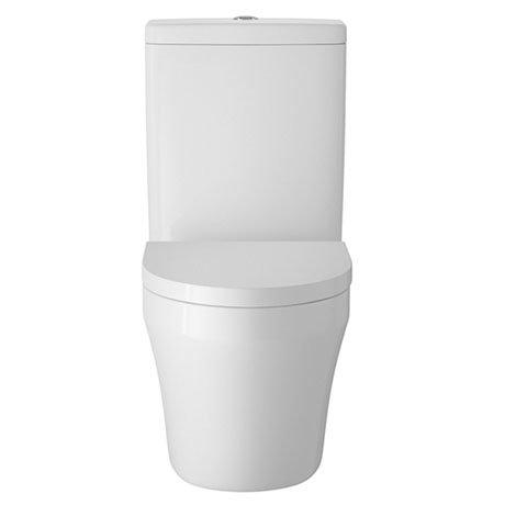 Hudson Reed Luna Flush to Wall Toilet + Soft Close Seat