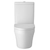 Hudson Reed Luna Semi Flush to Wall Toilet + Soft Close Seat Small Image