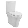 Nuie Provost Comfort Height Rimless BTW Toilet + Soft Close Seat - CMA011 profile small image view 1