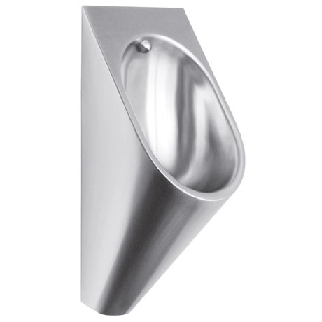 Franke Campus CMPX538CD Stainless Steel Wall Hung Urinal Pod for Duct Mounted Cisterns